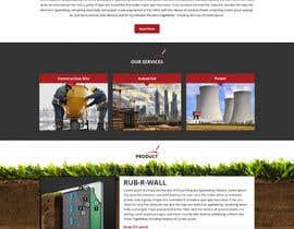 Nro 38 kilpailuun Construction company website käyttäjältä Bkmraj