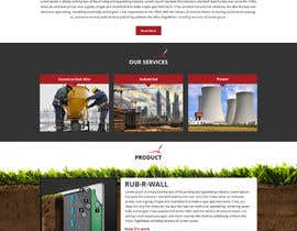 Nro 52 kilpailuun Construction company website käyttäjältä Bkmraj