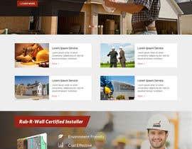 Nro 33 kilpailuun Construction company website käyttäjältä clickinn