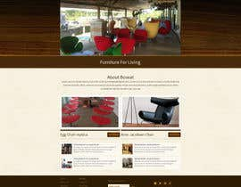 #11 for Design a Website Mockup for new furniture center in Thailand af tania06