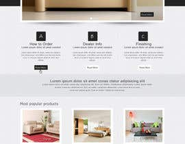 #12 para Design a Website Mockup for new furniture center in Thailand por mdmonirhosencit