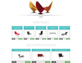 #5 para Design a Website Mockup for new furniture center in Thailand por robrichardson