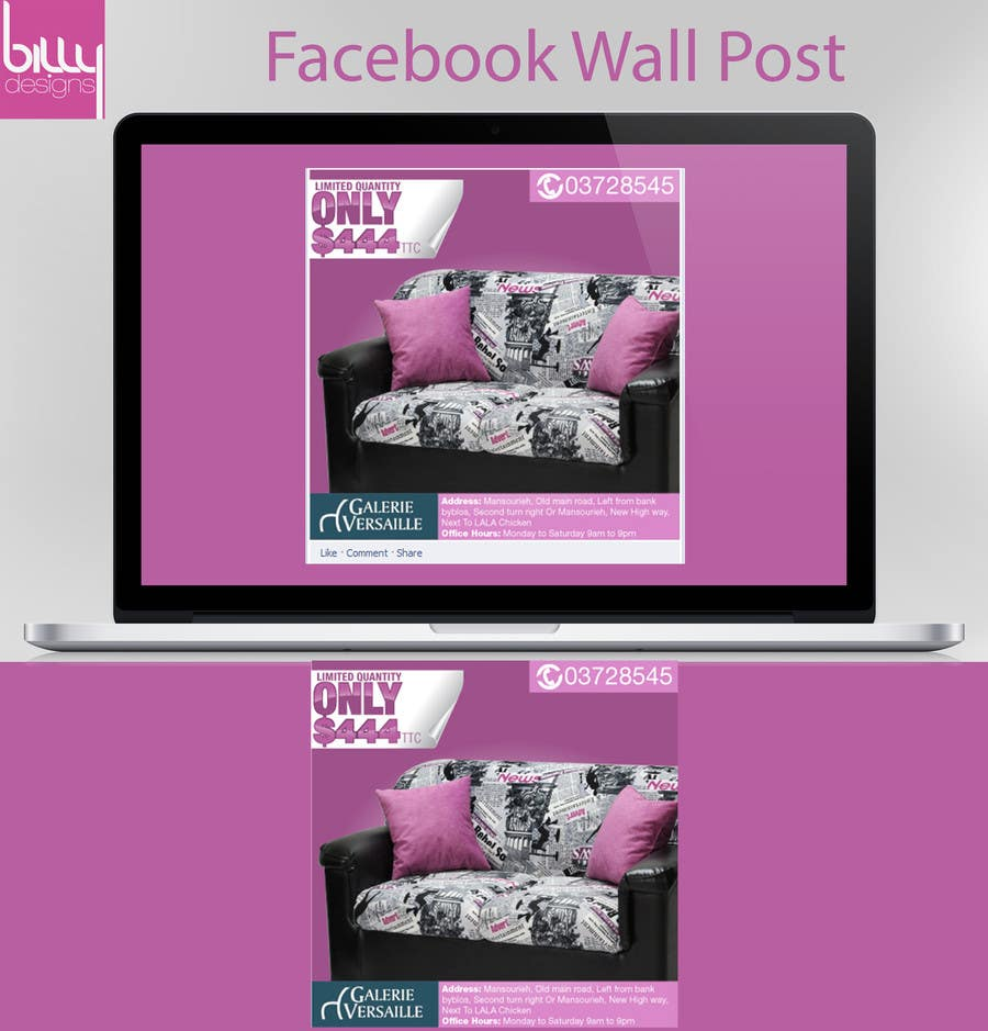 #19 for Design an Advertisement for a facebook post by mbkbilal