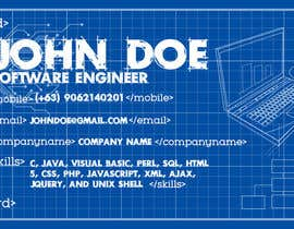 logronioenah tarafından Need a business card for a software architect için no 30