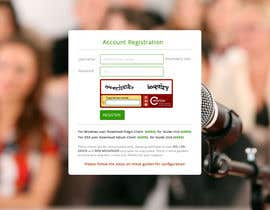 #2 for need a html redesing for signup page by phantham