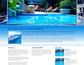 aryamaity tarafından Wordpress Template For Swimming Pool Company için no 23
