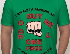 Nro 10 kilpailuun Need design images or text to print on t-shirt. käyttäjältä KaimShaw