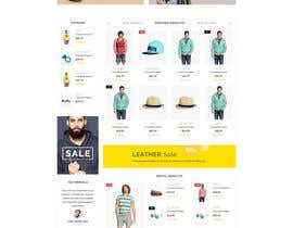 Nro 2 kilpailuun Design a Website Mockup käyttäjältä hi10info