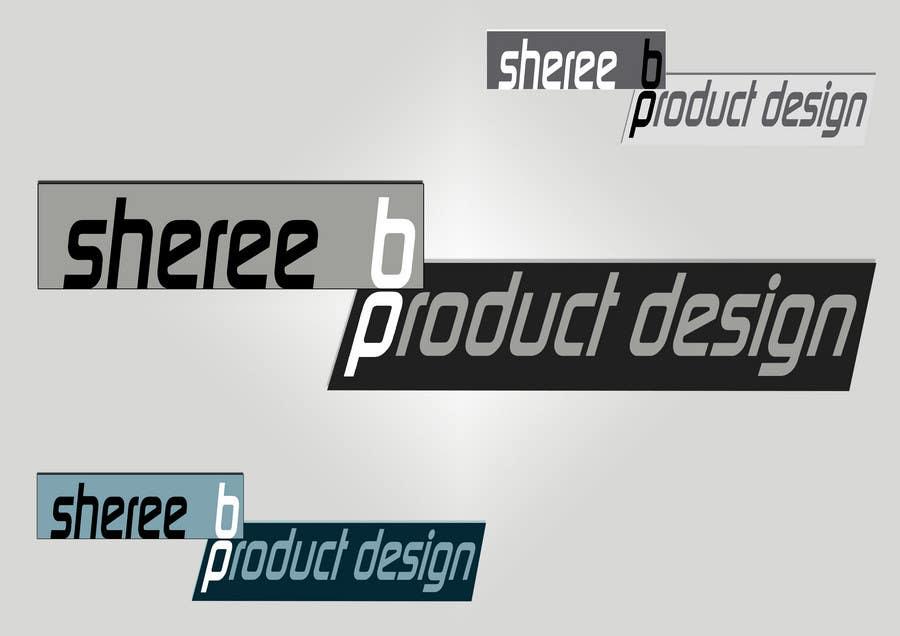 """Intrarea #128 pentru concursul """"Logo Design for Sheree B Product Design"""""""