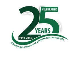 hiisham78 tarafından 25th anniversary school logo için no 63