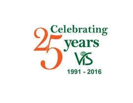 afsana2324 tarafından 25th anniversary school logo için no 27