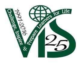 tursiopsinflatus tarafından 25th anniversary school logo için no 13