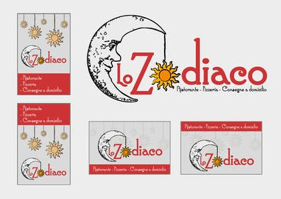 #48 for Logo re-design and street sign for an Italian restaurant and pizzeria af ZenoDesign