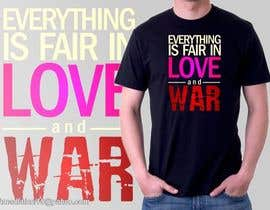 #8 for Design 5 T-Shirts for LoveTees.Org by ahmadfatoni