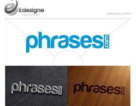 nº 16 pour Design a Logo for phrases.com par edesignsolution
