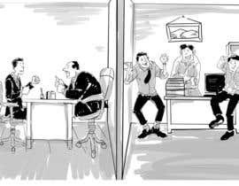 mudjib tarafından book illustrations - cover plus 9 chapter intros için no 8