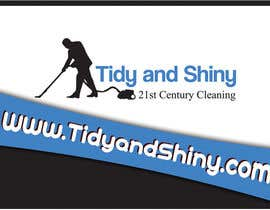 #35 for Design a Flyer for Tidy and Shiny Cleaning af nikolasr23