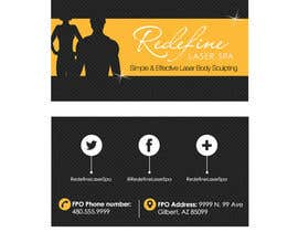 #3 untuk Design some Business Cards for a Laser Spa oleh marcelog4