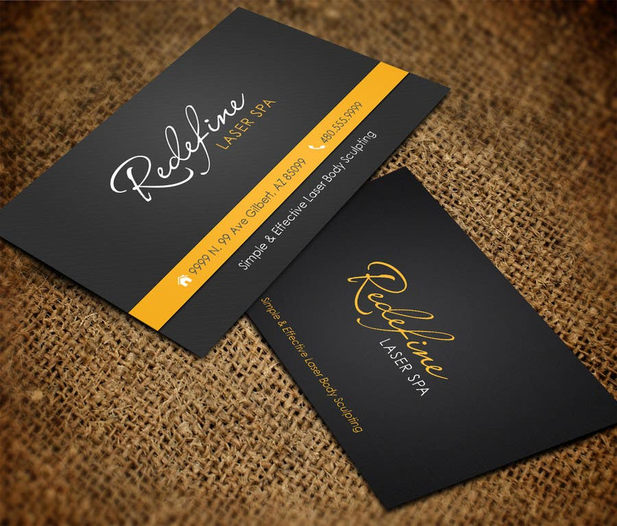 Entry #36 by pipra99 for Design some Business Cards for a Laser Spa ...