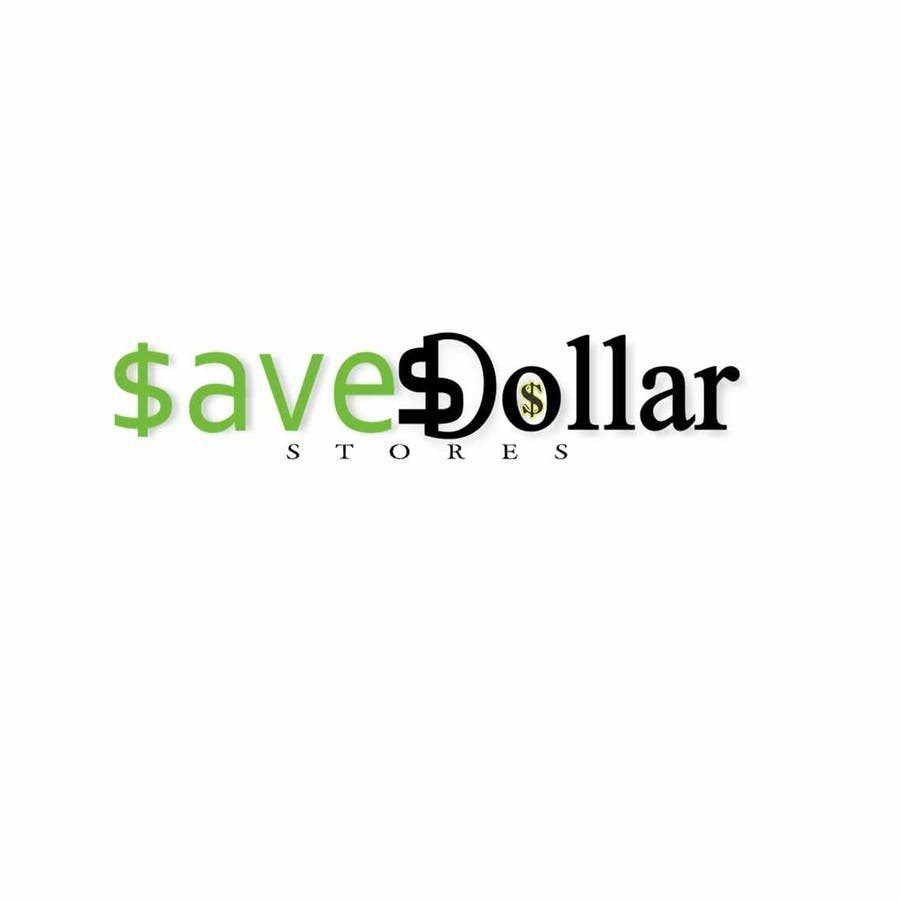#188 for Design a Logo for Save Dollar Stores by zrbappy