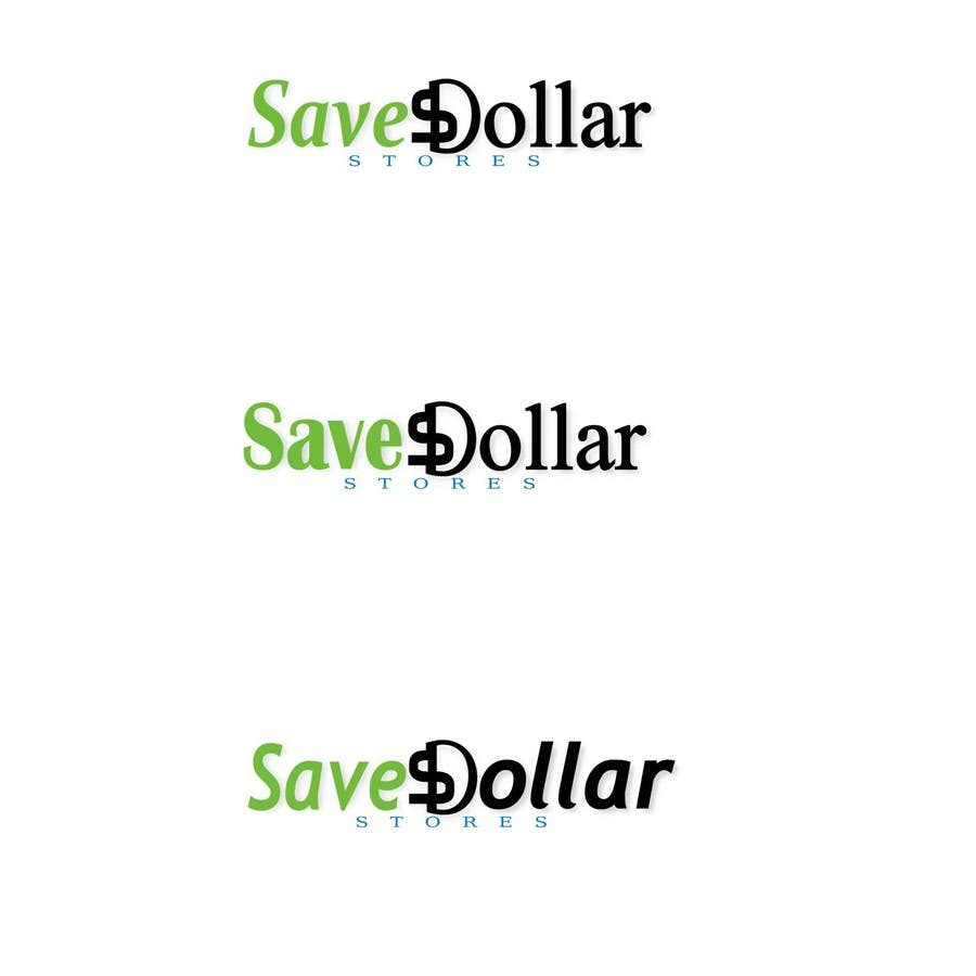 #190 for Design a Logo for Save Dollar Stores by zrbappy