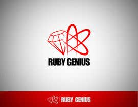 nº 54 pour Design a logo for Ruby Genius par daam