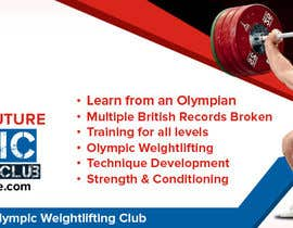 Nro 17 kilpailuun Facebook, Website banner for olympic weightlifting gym käyttäjältä rubazweb826