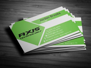 Graphic Design Contest Entry #121 for Inspiring Business Card & logo Design for Technology company