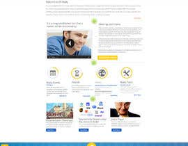 #10 for Design a clean and modern original PSD template af MagicalDesigner