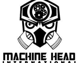 Nro 314 kilpailuun Design a corporate digital logo Machine Head International käyttäjältä rafina13