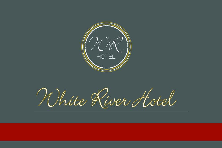 #70 for Design a Logo for White River Hotel. by miglenamihaylova