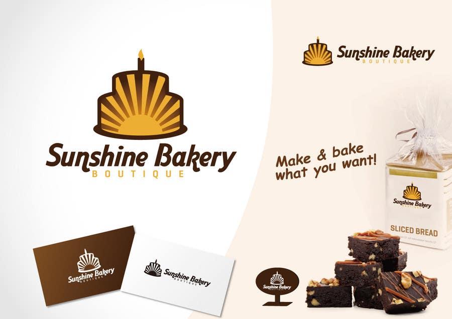 "Intrarea #360 pentru concursul ""Logo Design for Sunshine Bakery Boutique a new bakery I am opening."""