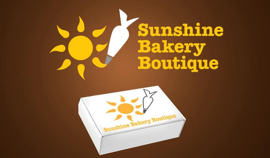 Inscrição nº 337 do Concurso para Logo Design for Sunshine Bakery Boutique a new bakery I am opening.