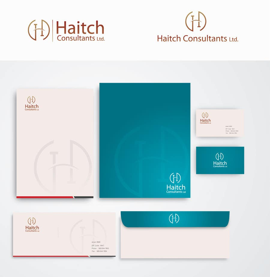 #76 for Design a Logo/ letter head / Business card  for Business consultants company by alizainbarkat