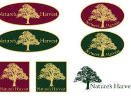 #12 para Logo Design for Nature's Harvest por danieleborromeo