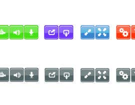 #5 for Design button set for Video Conference Application by ducdungbui