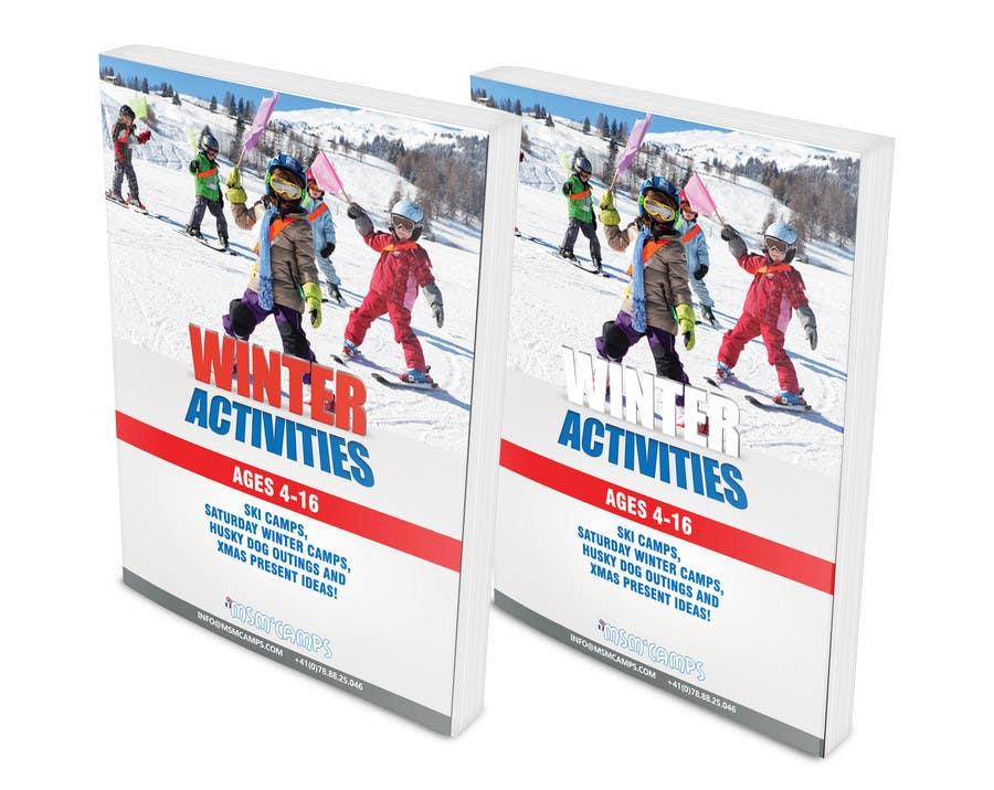 Konkurrenceindlæg #11 for Design a Brochure for kids ski camps,husky outings and christmas present ideas
