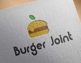 Nro 48 kilpailuun Design a simple minimalist-ish logo for a burger joint käyttäjältä alyanace