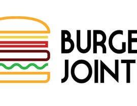 Nro 49 kilpailuun Design a simple minimalist-ish logo for a burger joint käyttäjältä alyanace
