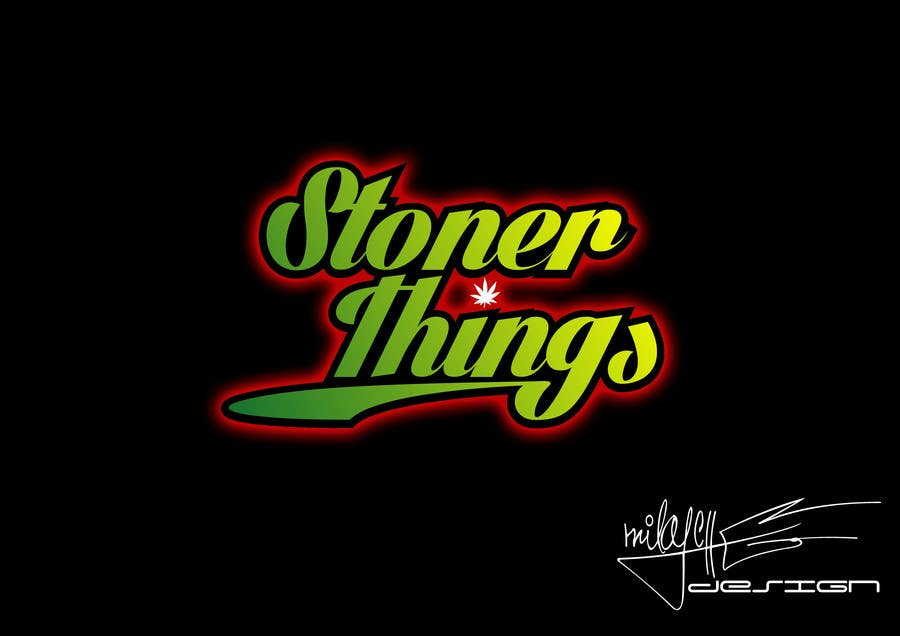 Konkurrenceindlæg #32 for Design a Logo for Stoner logo for shirt brand