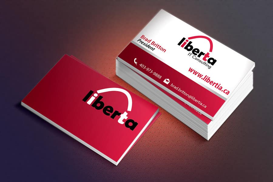 Proposition n°10 du concours Design some Business Cards for My IT Company