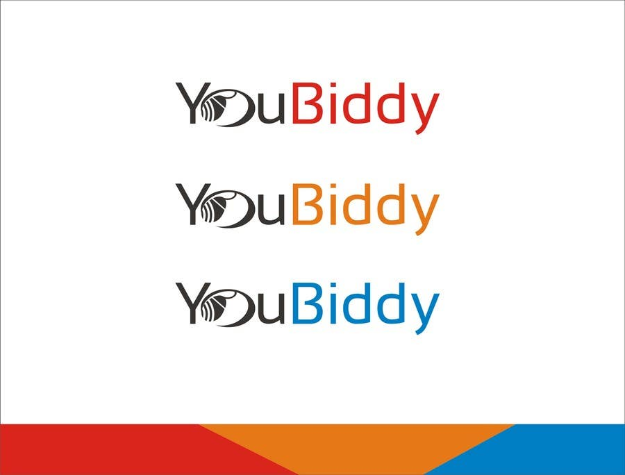 #69 for Design a Logo for new web site YouBiddy by creatvideas