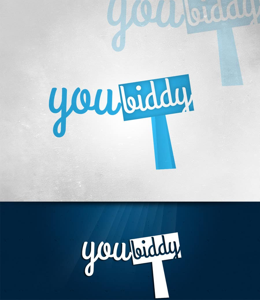 #8 for Design a Logo for new web site YouBiddy by manuel0827