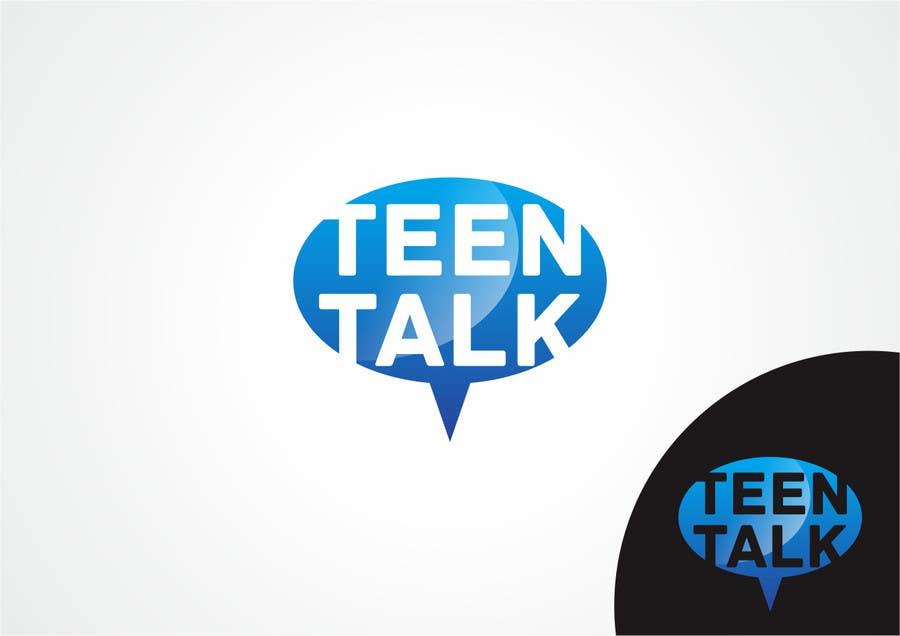 #8 for Design a Logo for Teen Talk / Teen Maze of Rhea County by bjidea