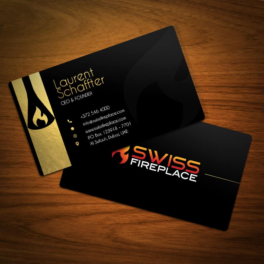 Bài tham dự cuộc thi #48 cho Design some Business Cards for our company selling Fireplaces