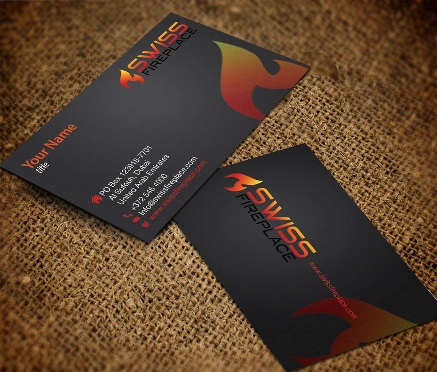 Bài tham dự cuộc thi #15 cho Design some Business Cards for our company selling Fireplaces