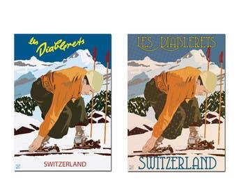 #1 for Rework on vintage poster (Vectorial) af KremMtv