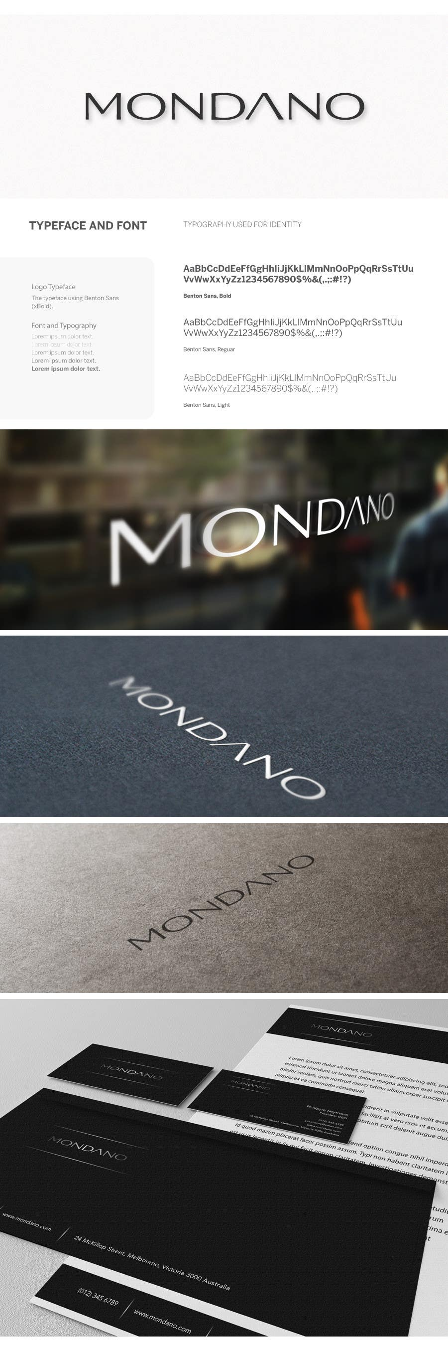 Contest Entry #534 for Logo Design for Mondano.com