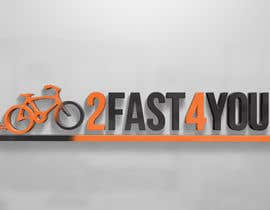 #7 para Design a Logo for my bike Brand 2Fast4You por sammi67
