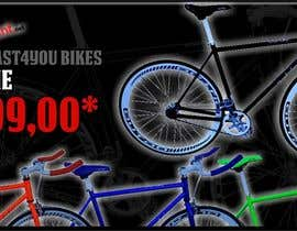 #7 for Design a Banner for the slider on our bicycle website by iYNKBRANE